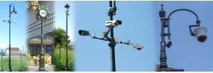 CCTV Óra Tartóoszlopok (4)