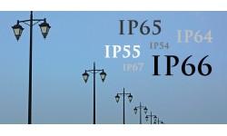 A lámpatestek IP védelme