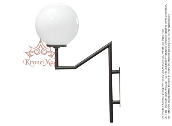 Közvilágítási Fém Fali Lámpa WIO.G300.A
