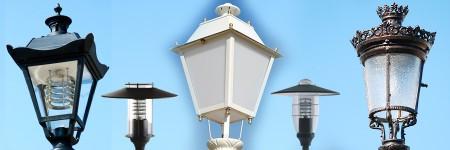 Kandeláber Lámpafejek, Búra Lámpatestek