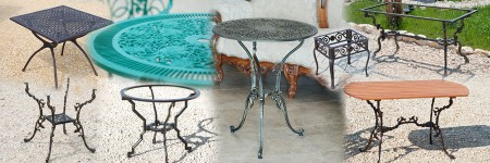 Kerti, Udvari és Teraszi Asztalok