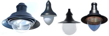 Közvilágitási Lámpatestek