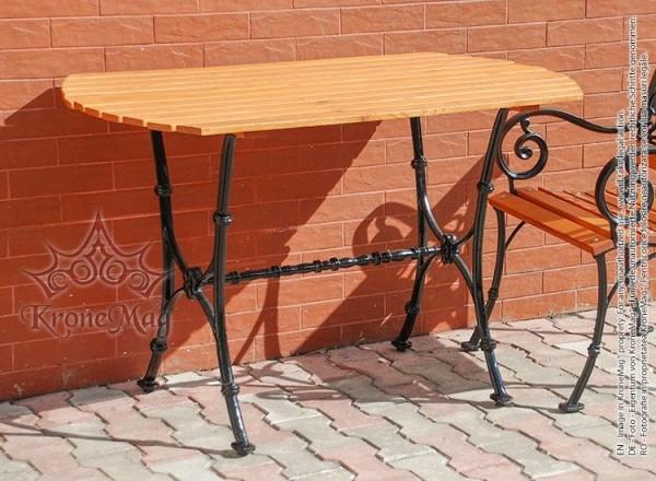 Kerti Bútor, Udvari Asztal MALAGA