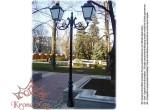 Köztéri Parki Fém - Öntöttvas Lámpaoszlop Kandeláber VILLA-C2