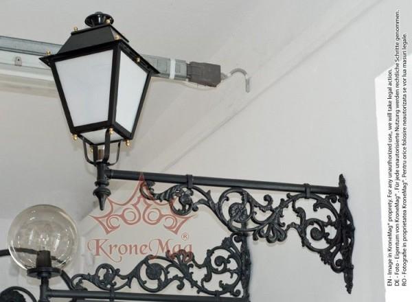 Kerti Öntöttvas Fali Lámpa ME501 VILLA